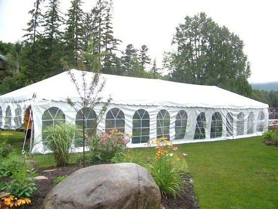 20x60 Frame Tent - Party Town Rentals